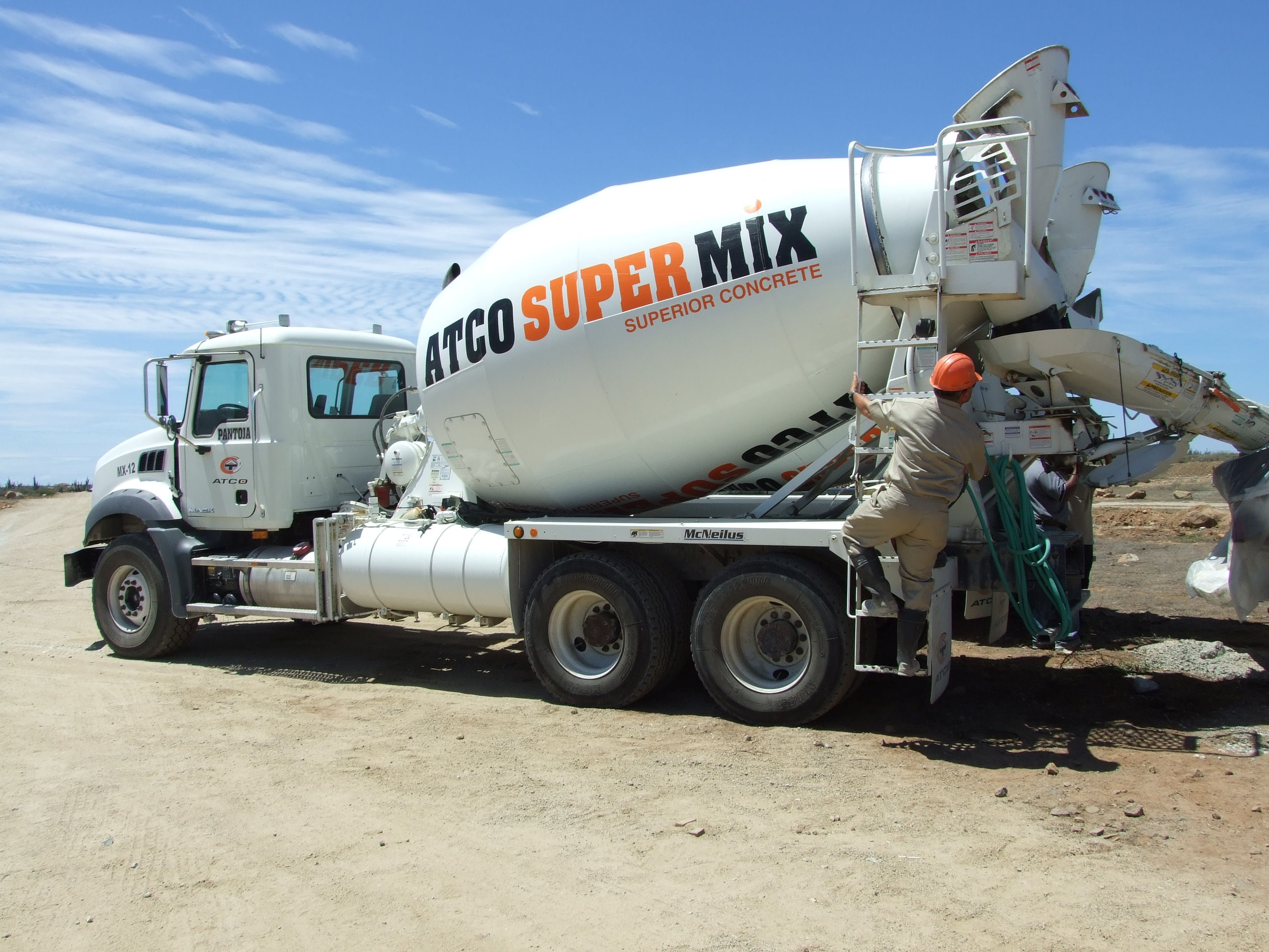 Fluid Concrete Ready Mix : Ready mix concrete atco products n v