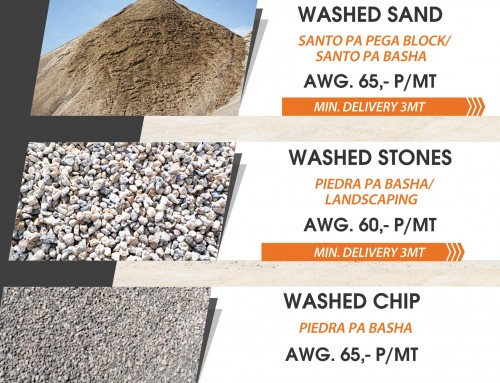 Special on Washed Aggregates